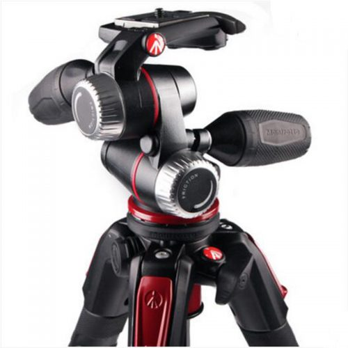 Manfrotto-New-MK190XPRO3-3W-Aluminum-Tripod-Kit-Professional-Tripod-With-3D-Head-Camera-Support-For-Canon